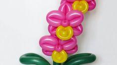 Орхидея из шаров / Orchid of balloons