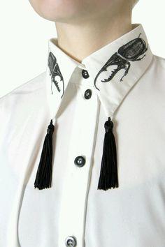 Tassel Necklace, Tassels, Shirts, Tassel