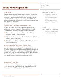 interior design lesson plans on pinterest lesson plans interior