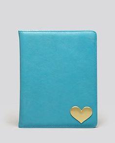 Jonathan Adler Heart Leather Ipad Case - Bloomingdale's