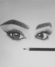 Image in Art Inspiration and Tips🎨 collection by The queen of imperfection Girly Drawings, Dark Art Drawings, Anime Drawings Sketches, Art Drawings Sketches Simple, Realistic Drawings, Pencil Drawing Images, Abstract Pencil Drawings, Pencil Sketches Landscape, Art Drawings Beautiful