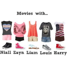 """Movies With..."" by calm-it-curly on Polyvore - LOVE the Harry outfit!"