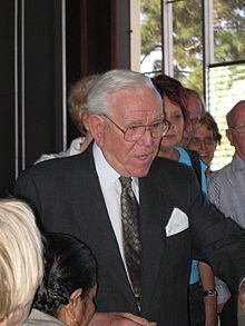 Rev. Robert H. Schuller. He's had a hard time of it lately. I still think he is great!