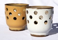 12cm footed candle holder - LampHa12