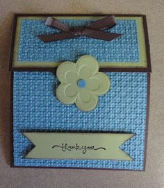 Indiana Inker - Thank You - Stampin' Up!