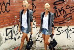 Look: Outfit grey - Quiero que llegue el veranoooooooooooooooooooo!!