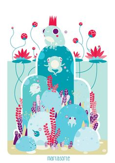 Marta Sorte Illustrations Portfolio : collaborations