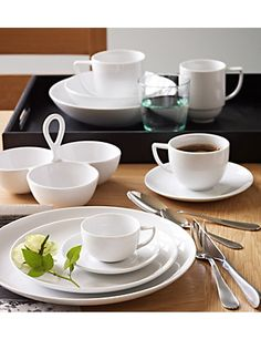Maxim Coupe Dinner Set