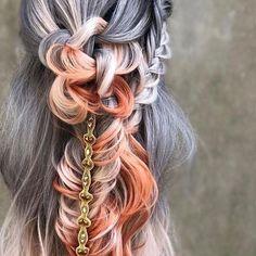 Fishtails and Knots. 📷: @braidedandblonde .  .  .  .  .  #braidedandblonde #hairinspo #hairgoals #coachella #festivalfashion #behindthechair #eufora