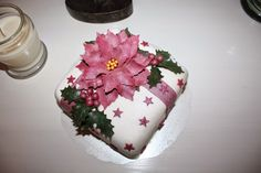 A Birthday cake for my mother, made by Nilla Hautasaari