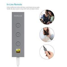 dodocool Hi-Res Audio Certified USB-C to 3.5mm Headphone Audio Sales Online gold