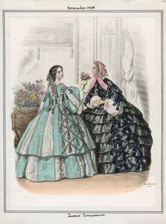 Ladies' Companion November 1858 LAPL