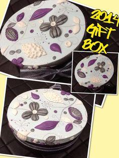My Gift Box Creation using Clay......
