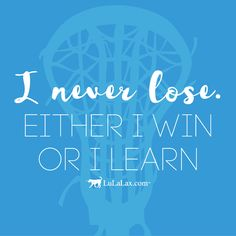 Mistakes are some of the most valuable learning tools.