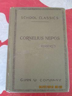 Selected Lives From Cornelius Nepos, 1895 by VintageVeneers on Etsy