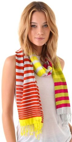 The quintessential Summer scarf.