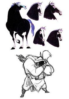 Mulan - Character Design Page