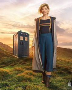 Doctor Who | First look at Jodie Whittaker's 13th Doctor in costume!!! So exciting!!