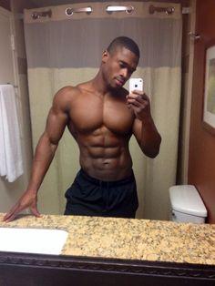 Naked black model male pierre vuala