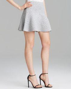 Tibi Skirt - Rime Jacquard  Bloomingdale's