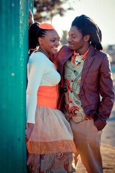 Not ur regular wedding/couple.Soweto.Johannesburg.South Africa