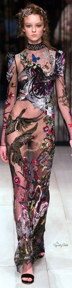 ALEXANDER MCQUEEN FALL 2O16 READY TO WEAR