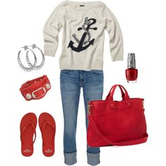 Ready for a cool spring day ~ Casual and comfy