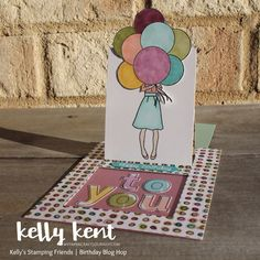 Hand Delivered Pop Up Slider Card   kelly kent