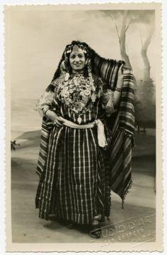 Daisy Seror in traditional Jewish Tunisian Costume ( City of Gabès)