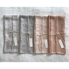 Shaadee Mae- Naturally Hand Dyed Tea Towels in 2019 Linen Towels, Linen Napkins, Hand Towels, Cloth Napkins, Diy Tea Towels, Shibori, Linen Fabric, Linen Bedding, Bed Linen