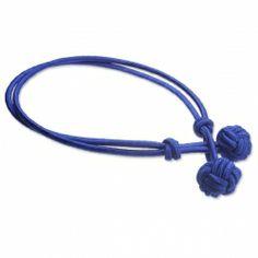 PAUL HEWITT Knotenarmband Königsblau