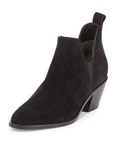 Belin Suede Ankle Boot by Sigerson Morrison at Bergdorf Goodman.