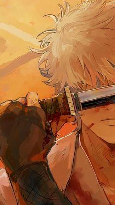 Manga Anime, Fanarts Anime, Anime Art, Gintama Wallpaper, I Wallpaper, Me Me Me Anime, Anime Guys, Silver Samurai, Fan Art