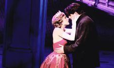 Anya and Dimitri 💕 Anastasia Broadway, Anastasia Movie, Anastasia Musical, Broadway Theatre, Music Theater, Broadway Shows, Theatre Nerds, Journey To The Past, Romance Movies