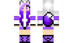 minecraft skin Purple-Wolf-Girl Check out our YouTube : https://www.youtube.com/user/sexypurpleunicorn