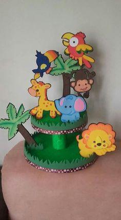 Preschool Classroom Decor, Jungle Theme Classroom, Jungle Theme Birthday, Preschool Crafts, Birthday Party Themes, Safari Party, Safari Theme, Diy For Kids, Crafts For Kids