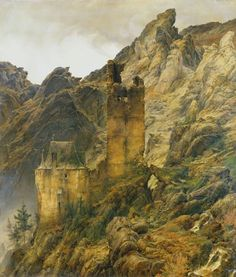 Carl Friedrich Lessing...could be Stephen's castle