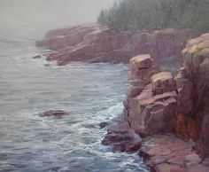 Salt Air and Solitude by Kathleen Dunphy Oil ~ 20 x 24