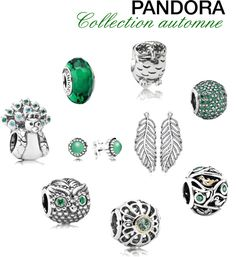 Pandora charms fall 2013- oooh love the owl with the green eyes and the one just below it with single greens tone