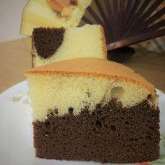 Marble Butter Sponge Cake | Jeannietay's Blog