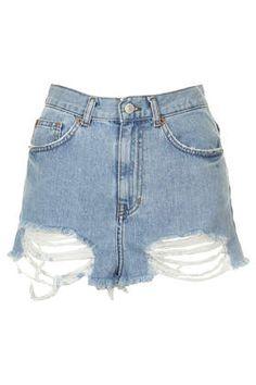 MOTO Bleach Ripped Mom Shorts £32