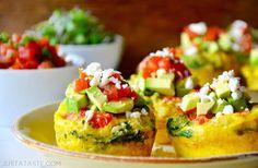 Healthy Breakfast Egg Muffins Recipe