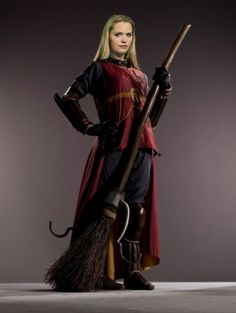 Ginny Weasley In Quidditch Robes My FAV Female Character From Harry Potter