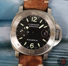 Set To Chill!Panerai 44mm Luminor Arktos Special Edition #luxury cars #luxury homes #luxury house