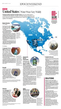 The Coming Water Crisis: United States|Epoch Times #newspaper #editorialdesign