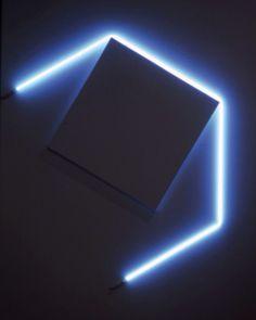 François Morellet #art #minimal #lights #installation