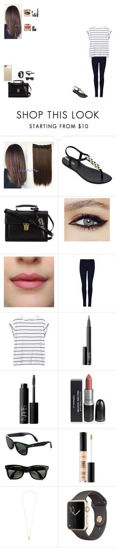 """Purchases"" by ludmila-martinez ❤ liked on Polyvore featuring beauty, IPANEMA, Yves Saint Laurent, Monki, NARS Cosmetics, Ray-Ban, Smashbox, Noor Fares and Speck"