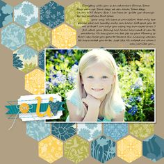 Pink Buckaroo Designs: Artisan Design Team Blog Hop Day 8 - love the hexagons