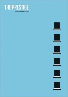 The Prestige - minimal movie poster