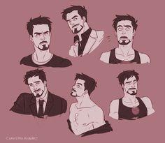 Tony Stark (by claustrophobiart) Marvel Tony Stark, Iron Man Tony Stark, Anthony Stark, Marvel Memes, Marvel Comics, Avengers Art, Marvel Fan Art, Robert Downey Jr, Hero Arts